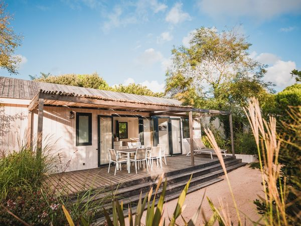 mobile home ile de re luxe camping le Phare